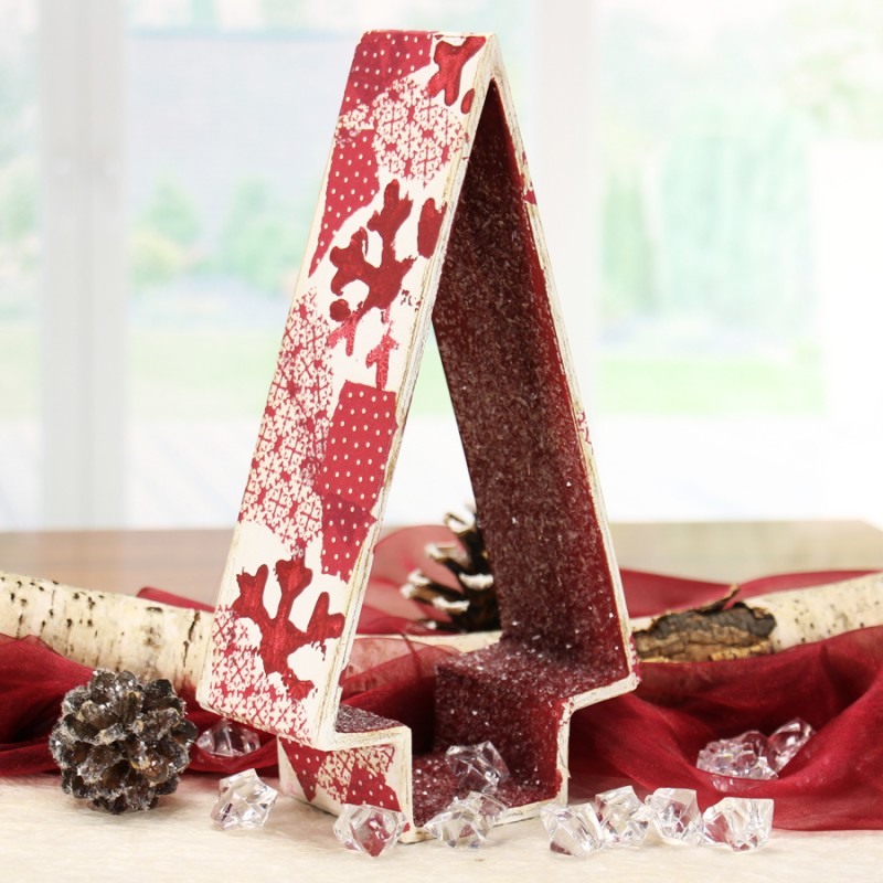 Deko Weihnachten - Tannenbaum Tischdeko