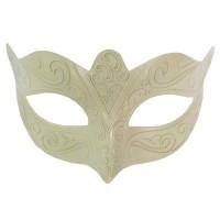 Maske Romantik aus Kunststoff, 1 Stück, 16 cm