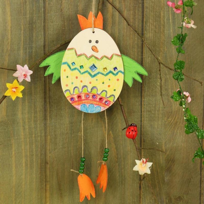 Hühner basteln - Schicke Idee zu Ostern